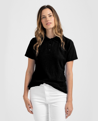 Tultex 401 - Women's Sport Polo Black
