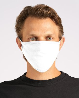 Tultex FM21 Enhanced Flat Face Mask White