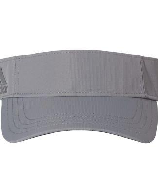 Adidas Golf Clothing A653 Poly Textured Visor Grey