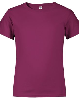 Delta Apparel 65900   Youth Retail SS T BERRY