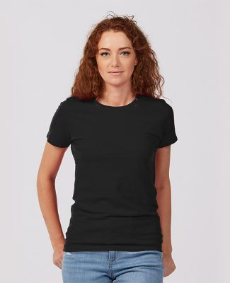 Tultex Premium 516 - Ladies' Premium Cotton Tee Black