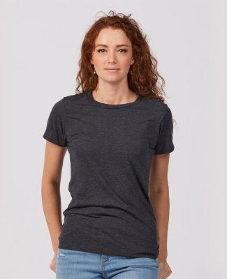 Tultex Premium 542 - Ladies' Premium Cotton Blend  Black Heather