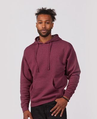 Tultex Premium 580 - Unisex Premium Fleece Hoodie Burgundy Heather