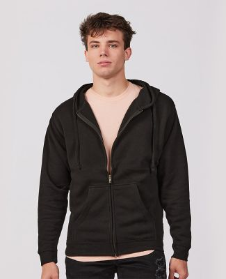Tultex Premium 581 - Unisex Premium Fleece Zip Hoo Black