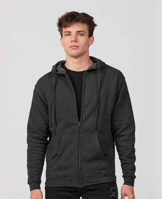 Tultex Premium 581 - Unisex Premium Fleece Zip Hoo Black Heather