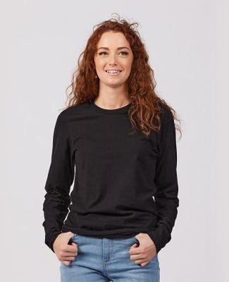 Tultex Premium 591 - Unisex Premium Cotton Long Sl Black