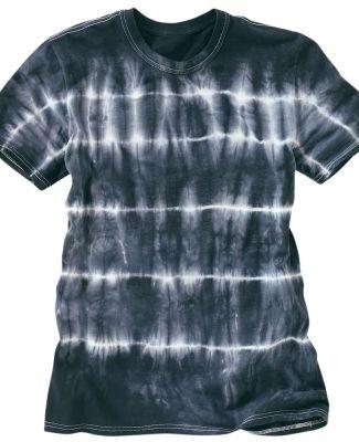 Dyenomite 640SB Shibori Tie Dye T-Shirt Black