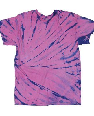 Dyenomite 200SW Sidewinder Tie-Dyed T-Shirt Andromeda