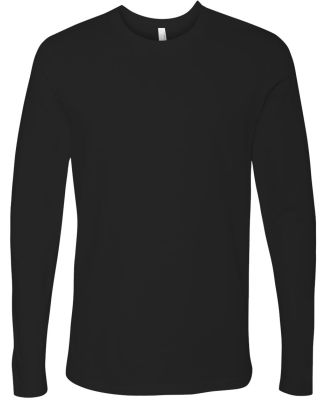 Next Level 3601 Men's Long Sleeve Crew BLACK