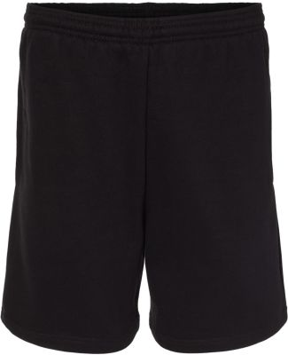 Badger Sportswear 1207 Athletic Fleece Shorts Black