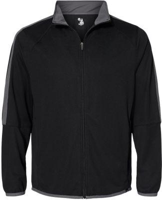 Badger Sportswear 7721 Blitz Outer-Core Jacket Black/ Graphite