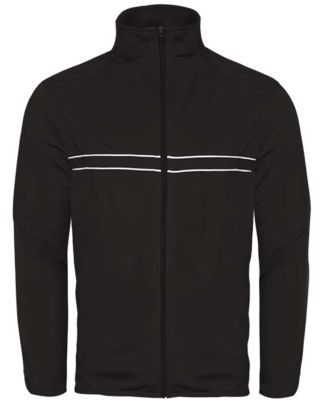 Badger Sportswear 7723 Wired Outer-Core Jacket Black/ White