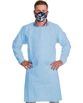 Badger Sportswear G0036S Level 1 Disposable Isolat Medical Blue