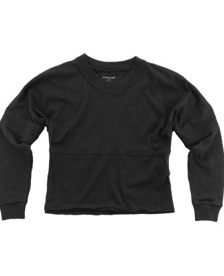 Boxercraft T15 Women's Cropped Retro Jersey Black