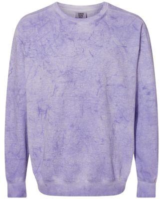 Comfort Colors 1545 Colorblast Crewneck Sweatshirt Amethyst
