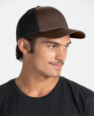 Tultex 51346 - Twill Trucker Brown/Black