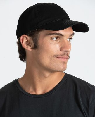 Tultex 51348 - Twill Cap Black