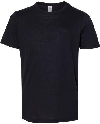Alternative Apparel K5050 Youth Vintage Jersey Kee Black