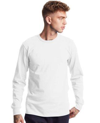 Champion Clothing T453 Heritage Long Sleeve T-Shir White