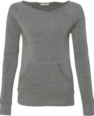 Alternative Apparel AA9582 Ladies Maniac Sweatshir Eco Grey