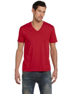 Alternative Apparel AA1032 Men's Basic V-Neck T- APPLE RED