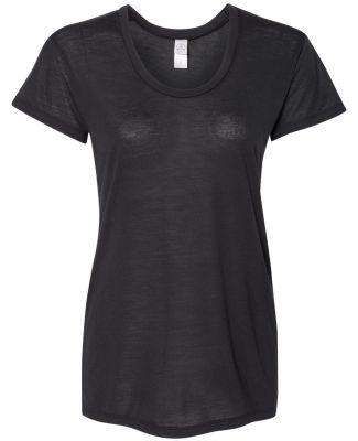 Alternative Apparel AA2620 Ladies Kimber T-Shirt BLACK
