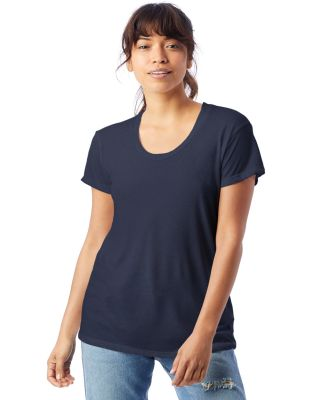 Alternative Apparel AA2620 Ladies Kimber T-Shirt NAVY