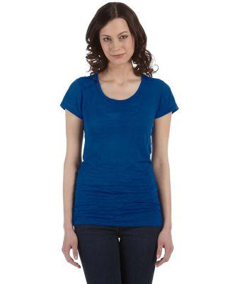Alternative Apparel 12147 Burnout T-shirt KLEIN BLUE