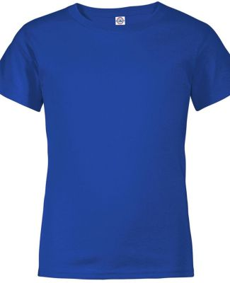 11736 Delta Apparel Youth Pro Weight Short Sleeve  CALI BLUE