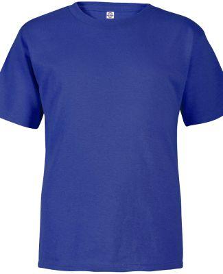 65200 Delta Apparel Toddler Short Sleeve 5.5 oz. T Royal