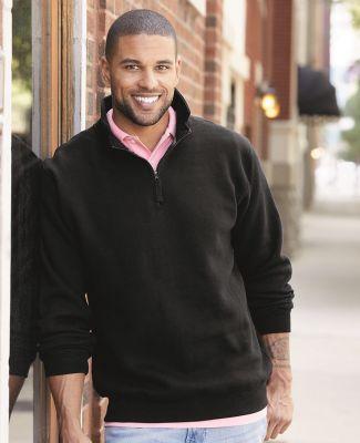 J. America - Heavyweight ¼ Zip Fleece Sweatshirt - 8634 Catalog