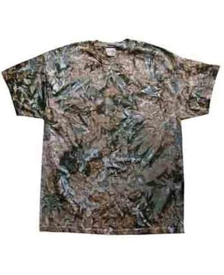 H1000 Tie-Dyes Adult Tie-Dyed Cotton Tee CAMO
