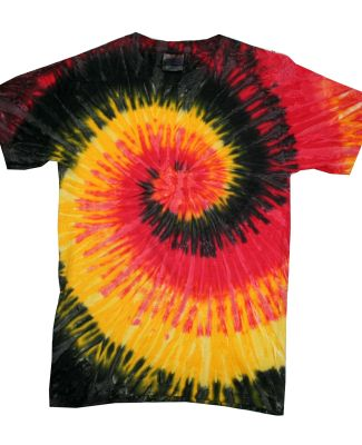 H1000 Tie-Dyes Adult Tie-Dyed Cotton Tee KINGSTON