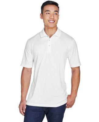 8405  UltraClub® Men's Cool & Dry Sport Mesh Perf WHITE