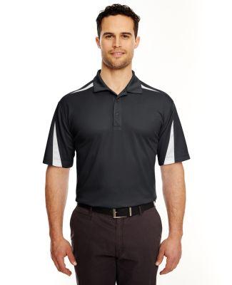 8408 UltraClub® Adult Cool & Dry Sport Mesh Perfo BLACK/ WHITE