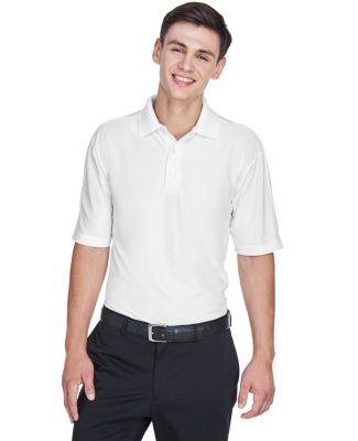 8415 UltraClub® Men's Cool & Dry Elite Performanc WHITE