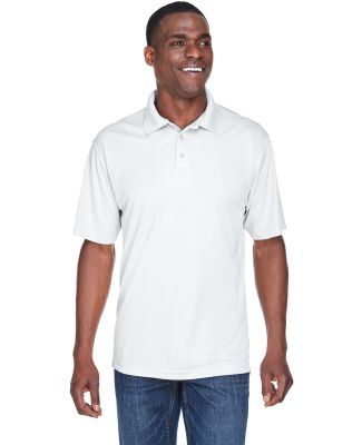 8425 UltraClub® Men's Cool & Dry Sport Performanc WHITE