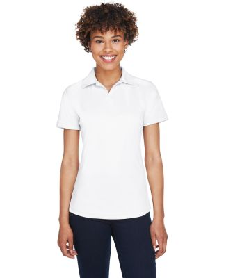 8425L UltraClub® Ladies' Cool & Dry Sport Perform WHITE
