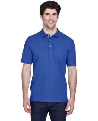 8535 UltraClub® Men's Classic Pique Cotton Polo ROYAL
