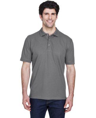 8535 UltraClub® Men's Classic Pique Cotton Polo GRAPHITE