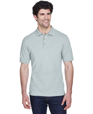 8535 UltraClub® Men's Classic Pique Cotton Polo SILVER
