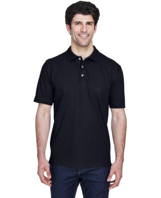 8535T UltraClub® Adult Tall Classic Pique Cotton  BLACK