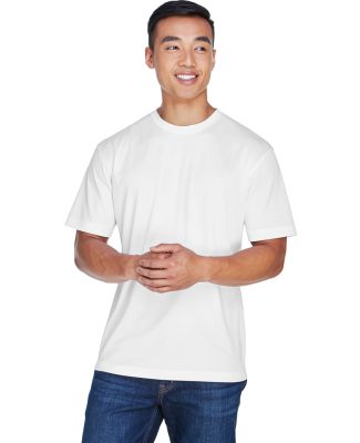 8400 UltraClub® Men's Cool & Dry Sport Mesh Perfo WHITE
