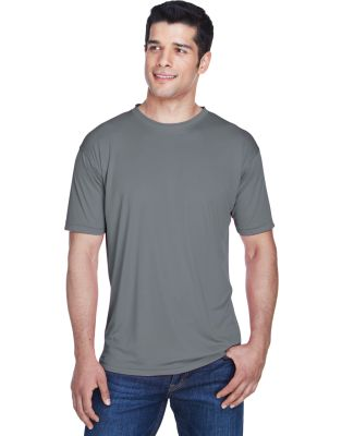 8420 UltraClub Men's Cool & Dry Sport Performance  CHARCOAL