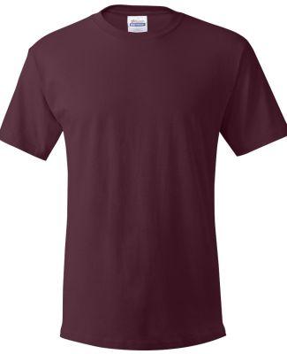 5280 Hanes® ComfortSoft™ Heavyweight T-shirt Maroon