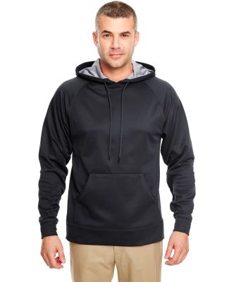 8441 UltraClub® Adult Cool & Dry Elite Sport Hood BLACK/ STEEL
