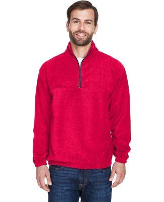8480 Adult UltraClub® Polyester Iceberg Fleece 1/ RED