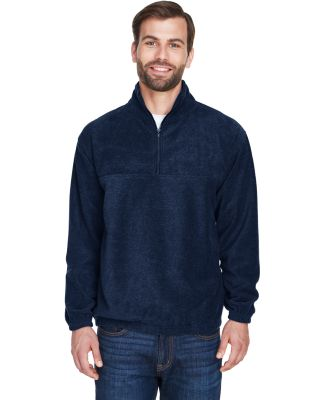 8480 Adult UltraClub® Polyester Iceberg Fleece 1/ NAVY