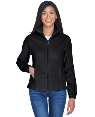 8481 UltraClub® Polyester Ladies' Iceberg Fleece  BLACK