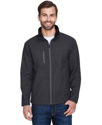 8280 UltraClub® Adult Polyester Soft Shell Jacket BLACK